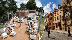 Města čeká bez turistů kolaps, Česko má tratit až 220 miliard. Papež radí zrušit zóny