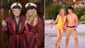 Tři roky po smrti šéfa Playboye (†91): Vdova (34) sbalila mladšího kolouška!