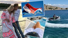 Babišová chytá bronz na jachtě v Chorvatsku. Babiš čeká peklo kvůli dovolené v Řecku