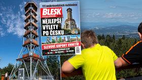 Nová rozhledna v Olešnici: Šachová dáma na kopci v Orlických horách