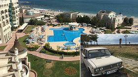 Dovolená v Bulharsku: O 75 procent Čechů méně, zavřené hotely, roušky i rozestupy na plážích