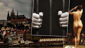 """Praha »dospěla« z peněz vydělaných """"proti dobrým mravům."""" Ve středověku se v ní kupčilo s otroky ve velkém"""