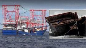 Moře vyplavuje záhadné lodě duchů plné mrtvých těl: Nové odhalení odkud a proč se berou!
