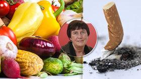 Silně návykový nikotin najdete i v zelenině! Expertka na závislost na tabáku popsala, jak to funguje