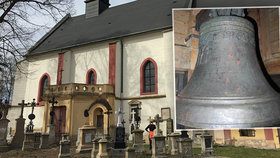 Nad plzeňskou Roudnou se rozezní 370 let starý unikátní zvon: Sbírka mu vrátila srdce