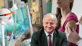 Prymula řekl, kdo z Čechů dosáhne na vakcínu proti koronaviru.Tuší ijejí cenu