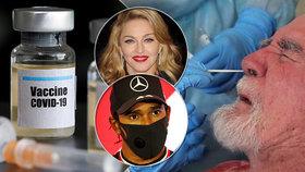 """""""Čipují nás přes nos, vakcínu tají."""" Konspirace u koronaviru přiživuje i Madonna a spol."""