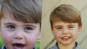 Kate Middletonová zveřejnila utajený snímek prince Louise: Stejný detail jako u bráchy George!