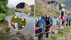 """Zakázané """"koupačky"""", odpadky i masakr hadů. Neukáznění turisté trápí národní parky"""