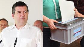 Hlasování z auta nebo přes zástupce: Hamáček čeká na verdikt o volbách z karantény