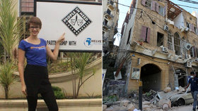 Češka Tamara popsala zkázu v Bejrútu: Myslela jsem, že je to zemětřesení, pak bomba