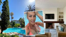 Belohorcová si útěkem z USA nepohorší: Tenhle luxus ji čeká ve Španělsku!