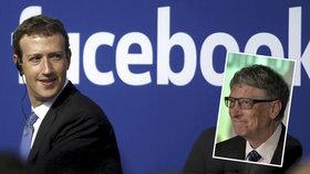 Z šéfa Facebooku je obří boháč. Zuckerberg šlape na paty Gatesovi a Bezosovi