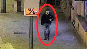 Policisté hledají muže s pihou pod okem: V Plzni na chodníku měl znásilnit ženu