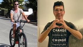 Drsný porotce X Factoru Simon Cowell se zmrzačil na elektrokole: Přelámal si páteř!