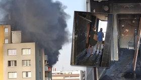 """Obrazy zkázy: """"Z inferna v Bohumíně nebylo úniku!"""" popsal šéf hasičů"""