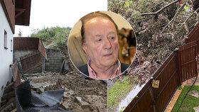 Rockera Petra Jandu (78) pronásledovaly živly! Po sesuvu půdy další pohroma
