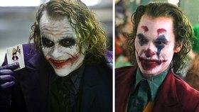 Slavní herci ve stejných rolích: Kdo zahrál psychopatického Jokera lépe?
