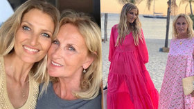 Tady se geny nezapřou! Maminka Terezy Maxové (48) Alena (70) zraje jako víno