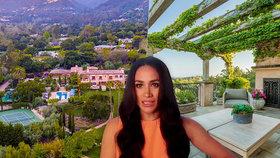 Bydlení »hrůzy« Meghan a Harryho: Dům koupený od oligarchy je ohrožen sesuvy půdy!