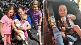 Lauru (5 měs.) doživotně zmrzačil vlastní otec: Její nová maminka prosí o pomoc