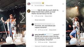 Ewa Farna sdílela »nepovedené« fotky! Následovala ostrá slova o Polácích