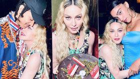 Žhavá oslava Madonny (62) na Jamajce: Milenec (26), sexy dcera i tác plný marihuany!
