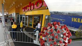 Koronavirus v IKEA: Na Černém Mostě se nakazilo sedm zaměstnanců, další jsou v karanténě