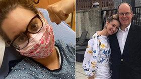 Vyčerpávající bolesti, migrény a vyrážka: Knížecí dcera popsala měsíční boj s nákazou
