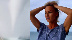 Sexbomba Belohorcová strachy bez sebe: Miami se prohnalo děsivé tornádo!