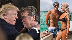Jachty, plastiky, šperky… Válečný invalida a prezidentův stratég vytuneloval Trumpovu sbírku a žil si jako král