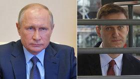 """""""Novičok si mohl vzít sám"""". Putin šokoval teorií o otravě svého kritika Navalného"""