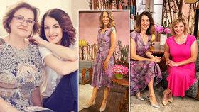 Moderátorka Lucie Křížková v pořadu vynesla významné šaty: Jsou starší než ona!