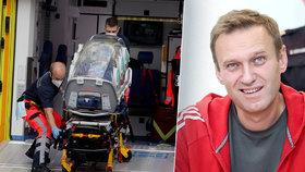 Testy u Navalného potvrdily otravu. Jméno jedu lékaři hledají, Moskva vše odmítá