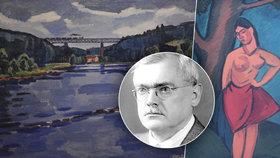 """Národní umělec Václav Špála (†60). """"Neuspěl"""" na dvou pražských školách, dnes jeho obrazy stojí miliony"""