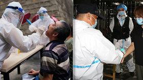 Připoutání k domům, bylinky jako léčba:Čína terorizuje Ujgury tvrdou karanténou