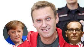 Spolupracujte, udeřil německý ministr na Moskvu kvůli Navalnému. Otrávil politika novičok?
