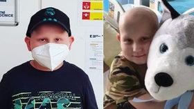 Románek (8) trpí agresivní rakovinou: Podstoupil už 6 bloků chemoterapie!