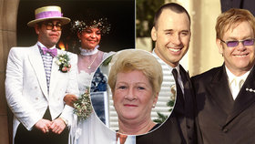 Exmanželka Eltona Johna skončila na drogách: Žaluje ho o 86 milionů!