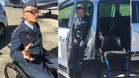 """Táta dvou dětí Luboš (45): Od letadel na invalidní vozík. Kolegovi pomohli """"kluci z armády"""""""