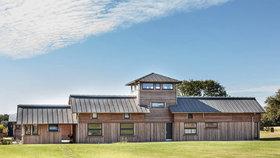 Leteckou základnu z 2. světové války proměnili v dům pro farmáře