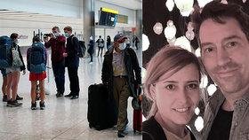 Andree (33) zkazil covid vysněnou svatbu v Praze: Uteklo jim 30 hostů včetně družičky!