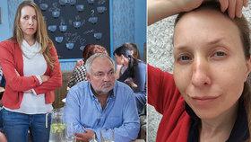 Zraněná Tereza Bebarová popsala okamžiky hrůzy: Myslela jsem, že je po mně!
