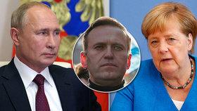 """Otrava Navalného: Merkelové se hroutí """"křehký vztah"""" s Putinem. Kreml: Nerozumíme"""