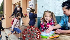 Další kolo boje proti koronaviru: Pražské školy musí hlásit nakažené žáky, učitele i jejich kontakty