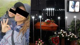 Rodina se rozloučila s fotografkou Kristýnou (†23): Rozsviť tam nahoře nebe!