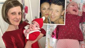 Ženě uspíšili porod kvůli rakovině: Její dcerka ale mámu už neuvidí