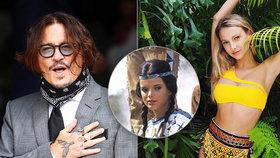 Johnny Depp má nový objev: Randí s dcerou Apanači!