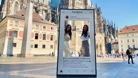 Alex Mynářová a Kate Zemanová: Spojenkyně, které lákají na Hrad. Fotku chtějí i od vás