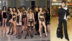 Rochová zahájila týden módy MBPFW 2020: Ukazuje i trendy pro spodní prádlo!